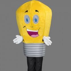 Mascotte lampe joyeuse