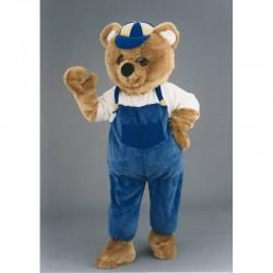 Mascotte ours bricoleur